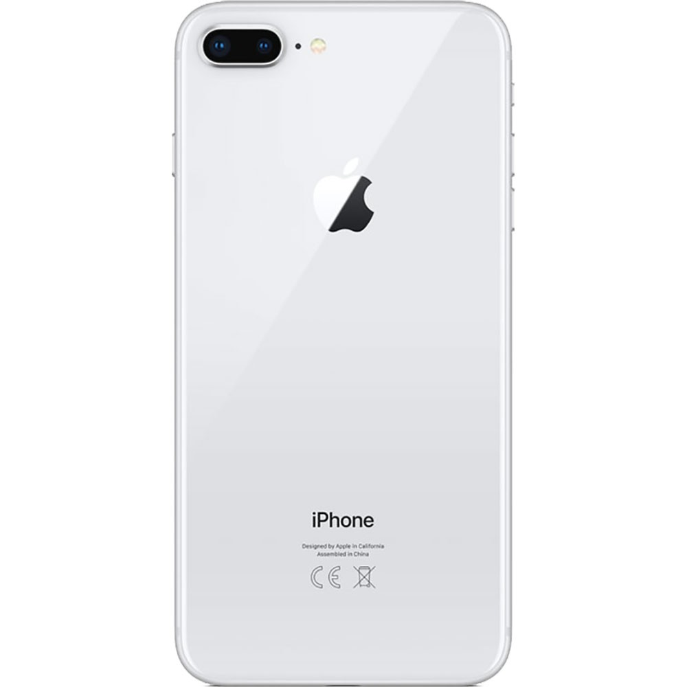Apple Iphone 8 Plus 64Go Argent - dos