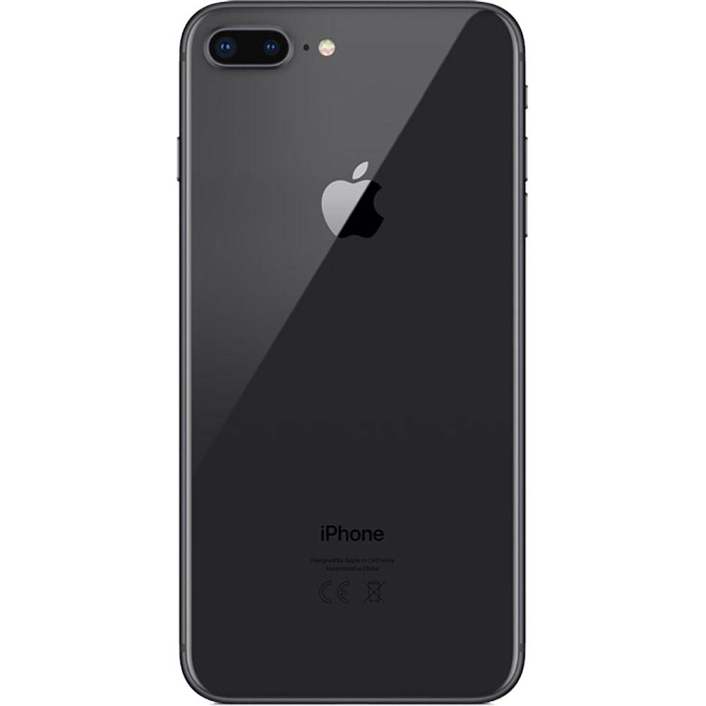 Apple Iphone 8 Plus 64Go Gris sidéral - dos