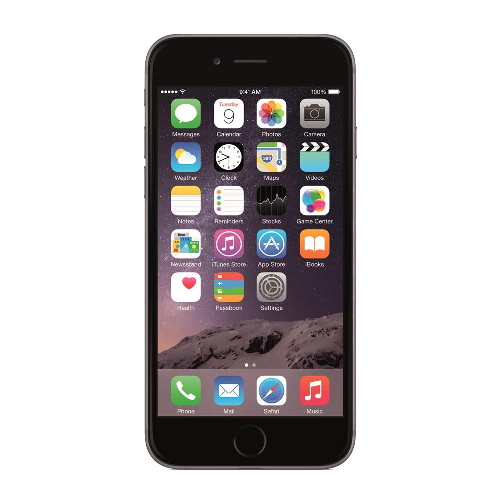 Iphone-Rec-6S-128Go-Gris-Sidéral-face