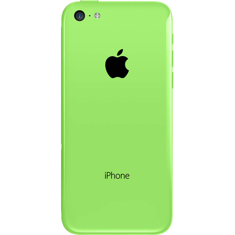 Apple iPhone 5C Vert 16Go reconditionné - Dos