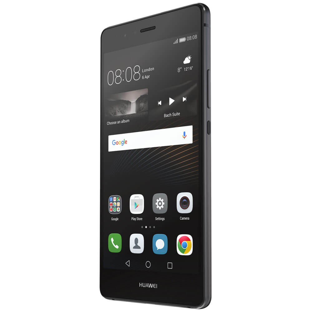 Huawei P9 Lite Noir - Face