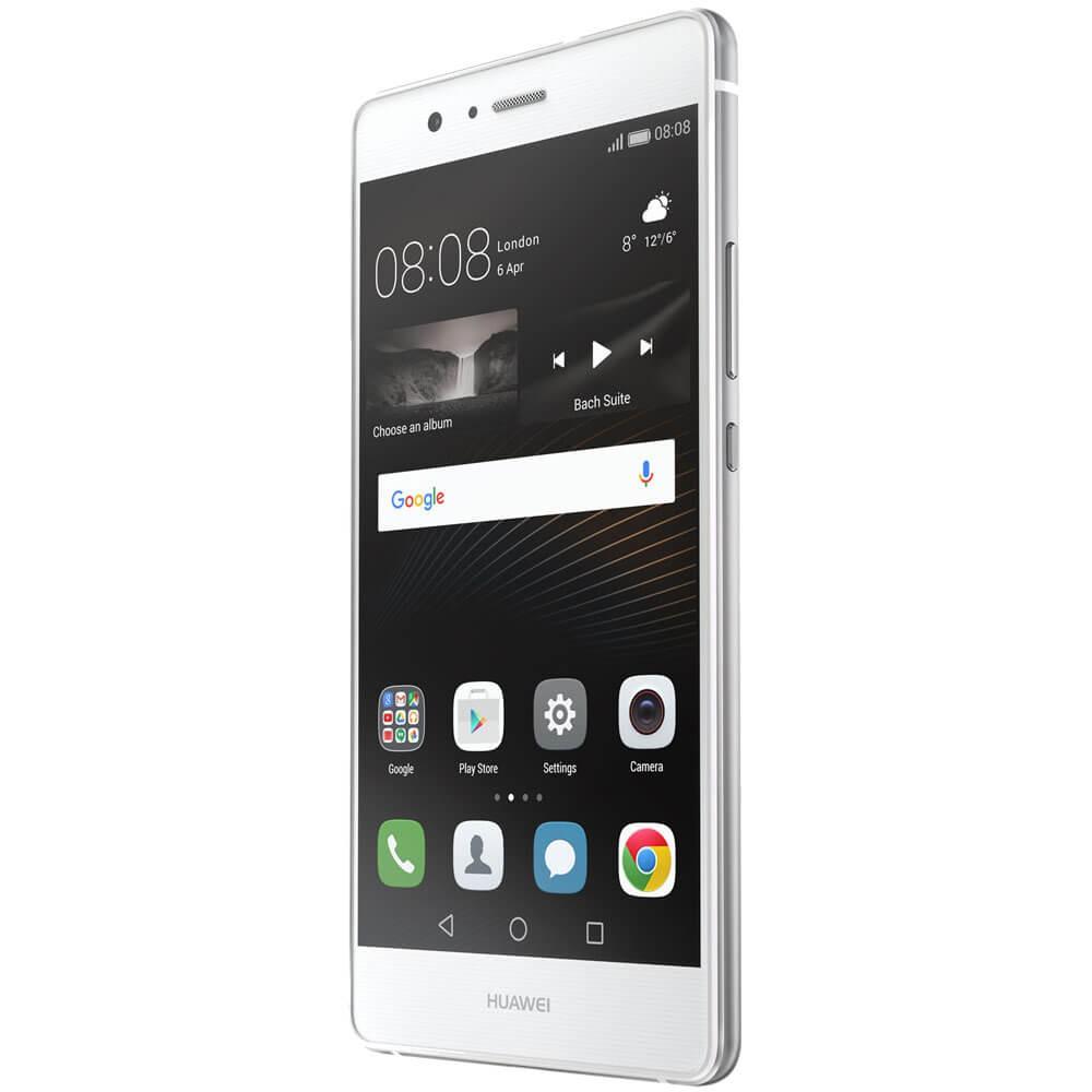 Huawei P9 Lite Blanc - Face