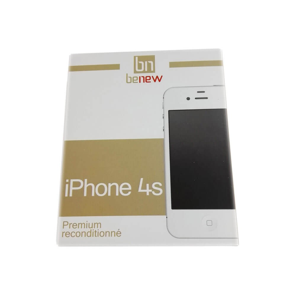 Apple iPhone 4S Blanc 16Go reconditionne - Boîte