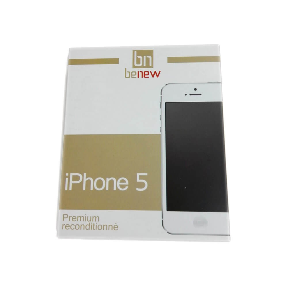 Apple iPhone 5 Noir 16Go rec - Packaging