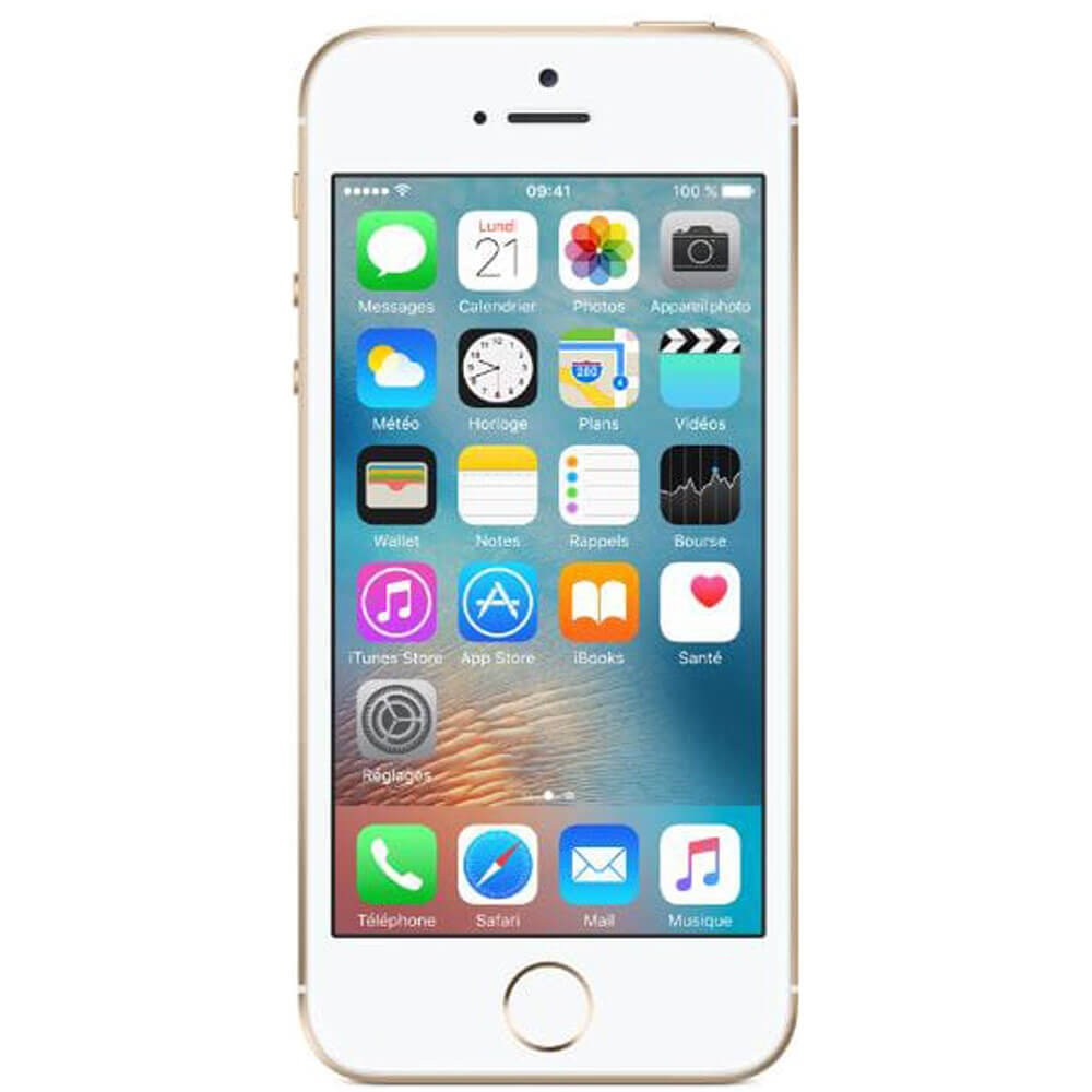 Apple iPhone SE 32Go Or - face