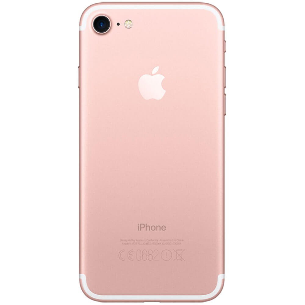 Apple iPhone 7 32Go Or Rose - Dos