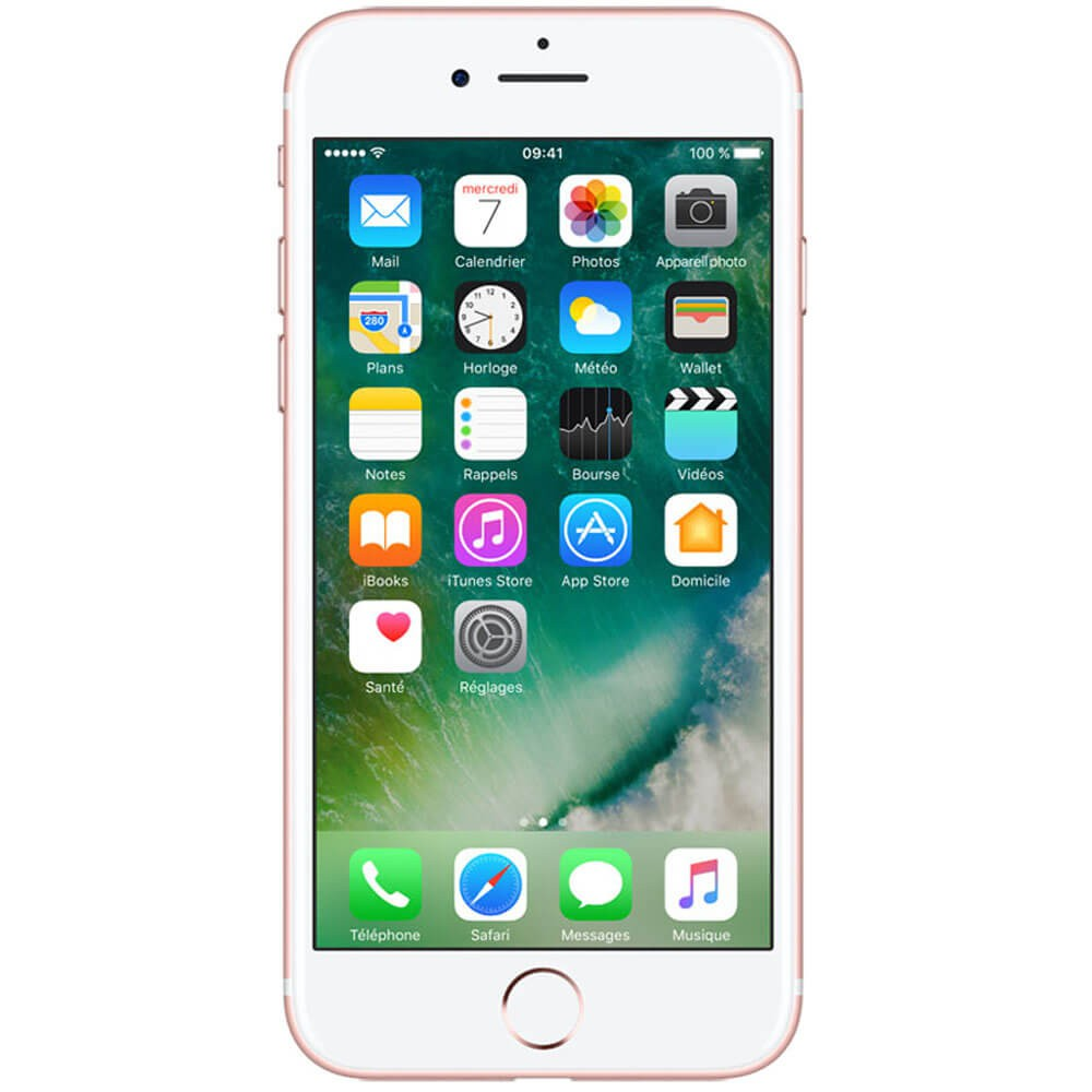 Apple iPhone 7 128 Go Or Rose - Face