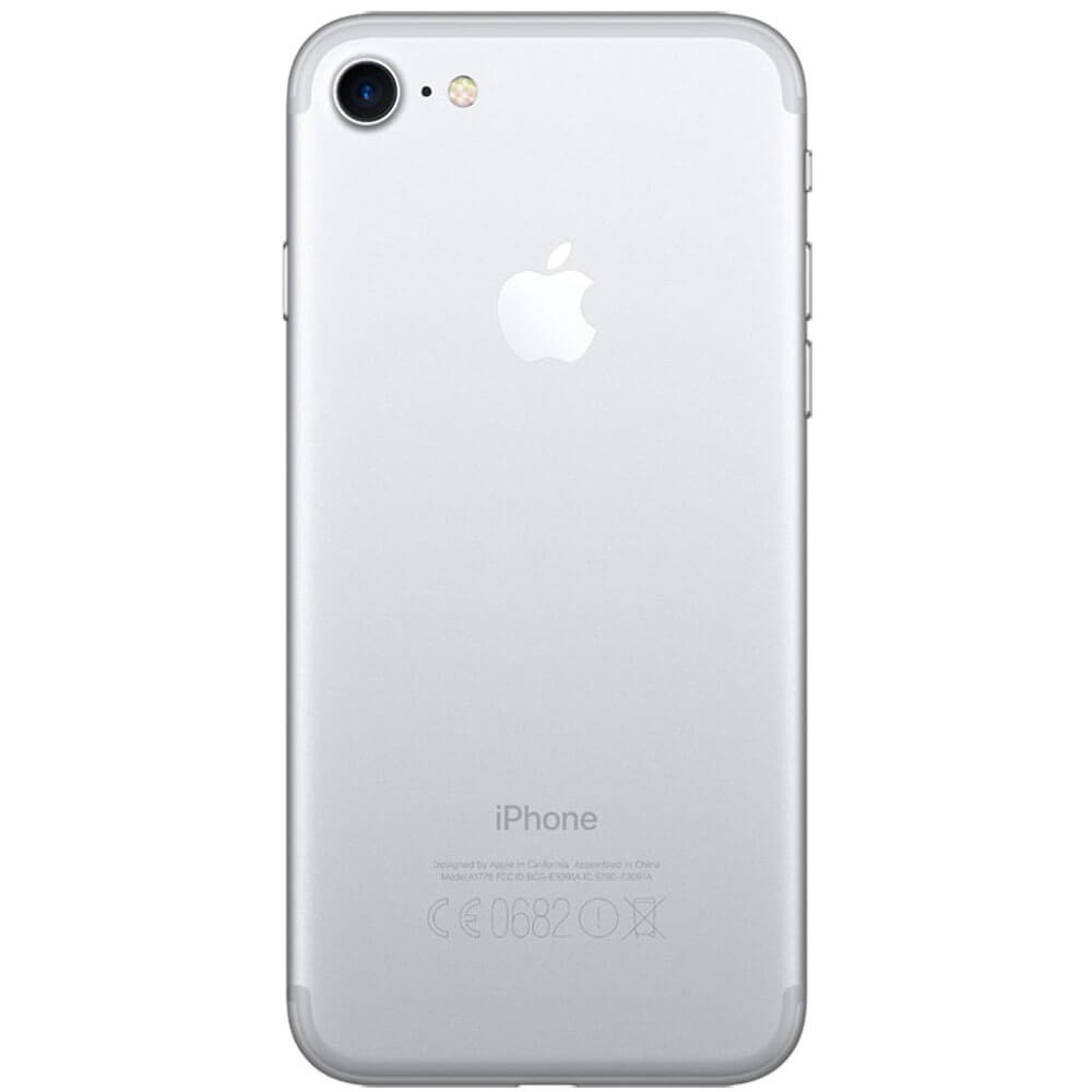 Apple iPhone 7 32Go Argent - Dos
