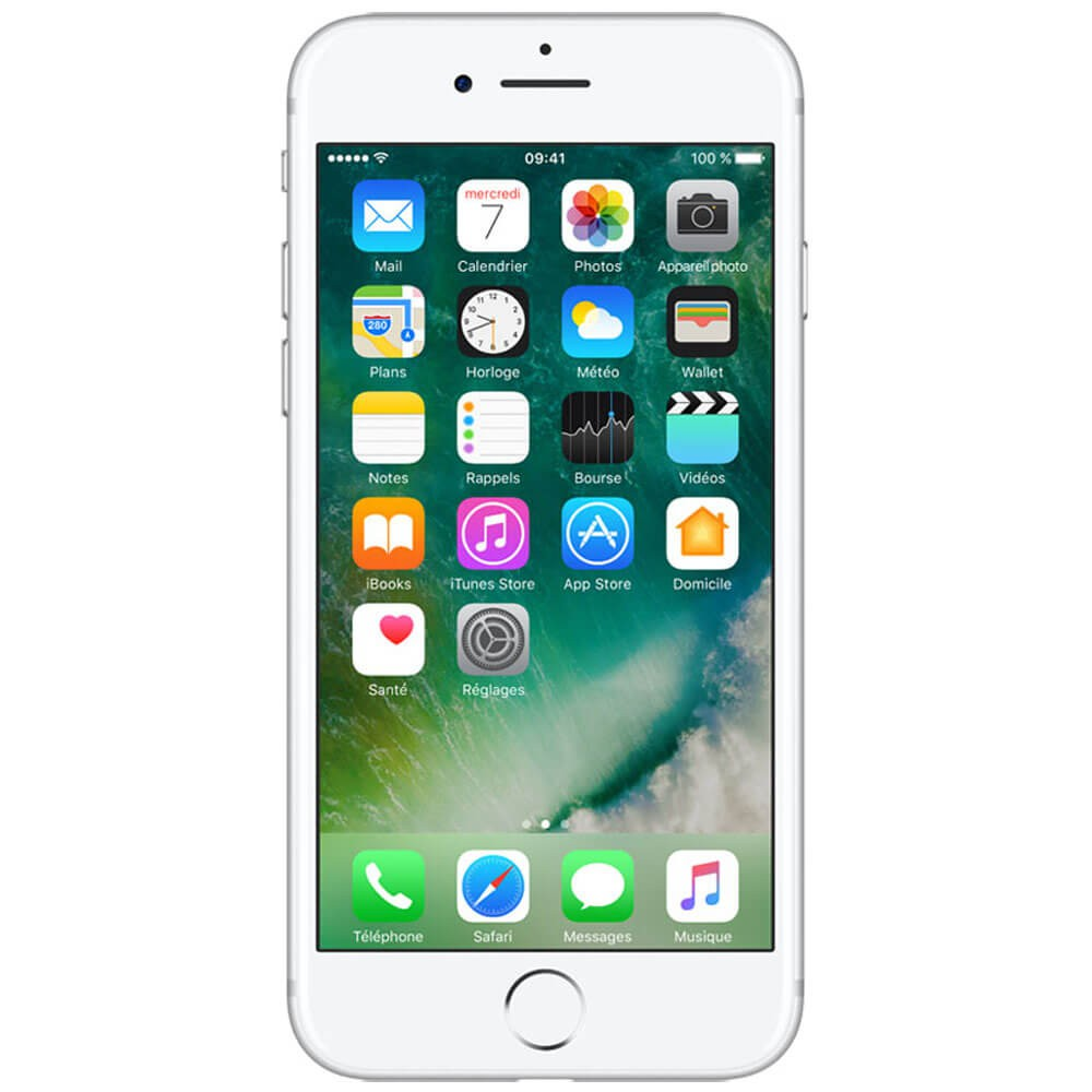 Apple iPhone 7 256 Go Argent - Face