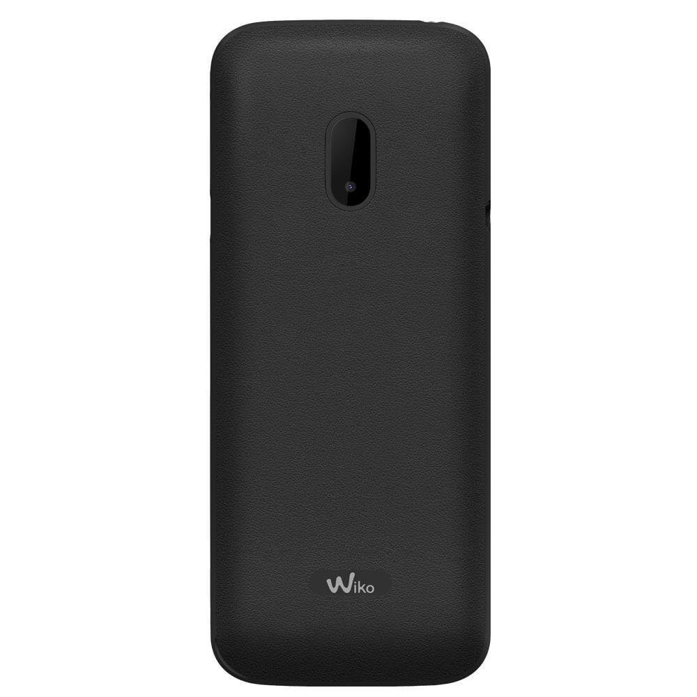 Wiko Lubi 4 Noir - Dos