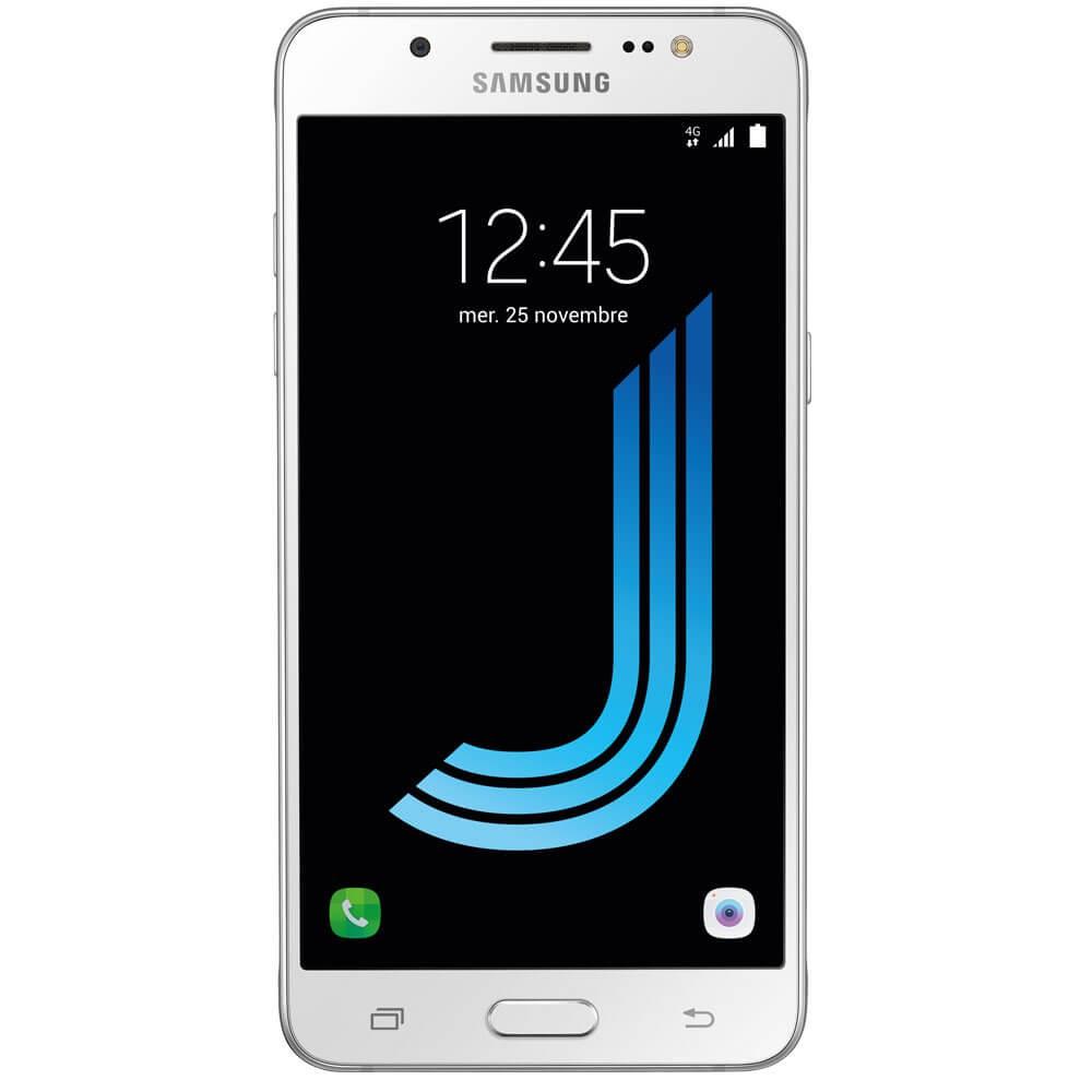 Samsung Galaxy J5 2016 Blanc - Face
