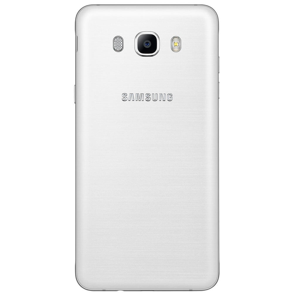 Samsung Galaxy J7 2016 Blanc - Dos