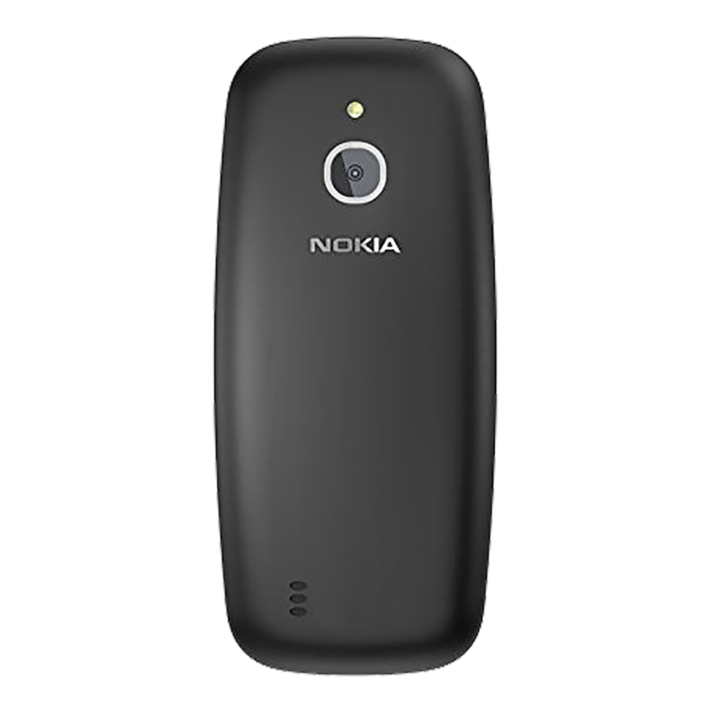 Nokia 3310 Noir - Dos