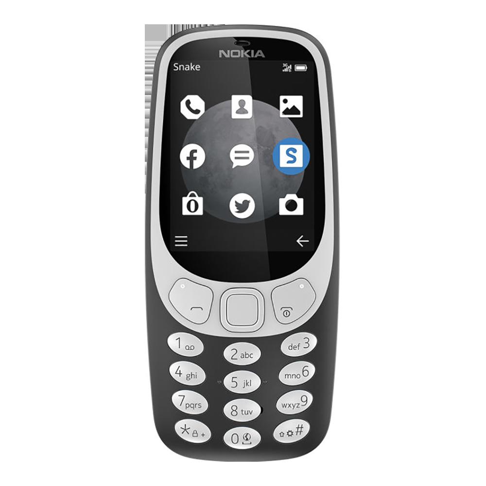 Nokia 3310 Noir - Face