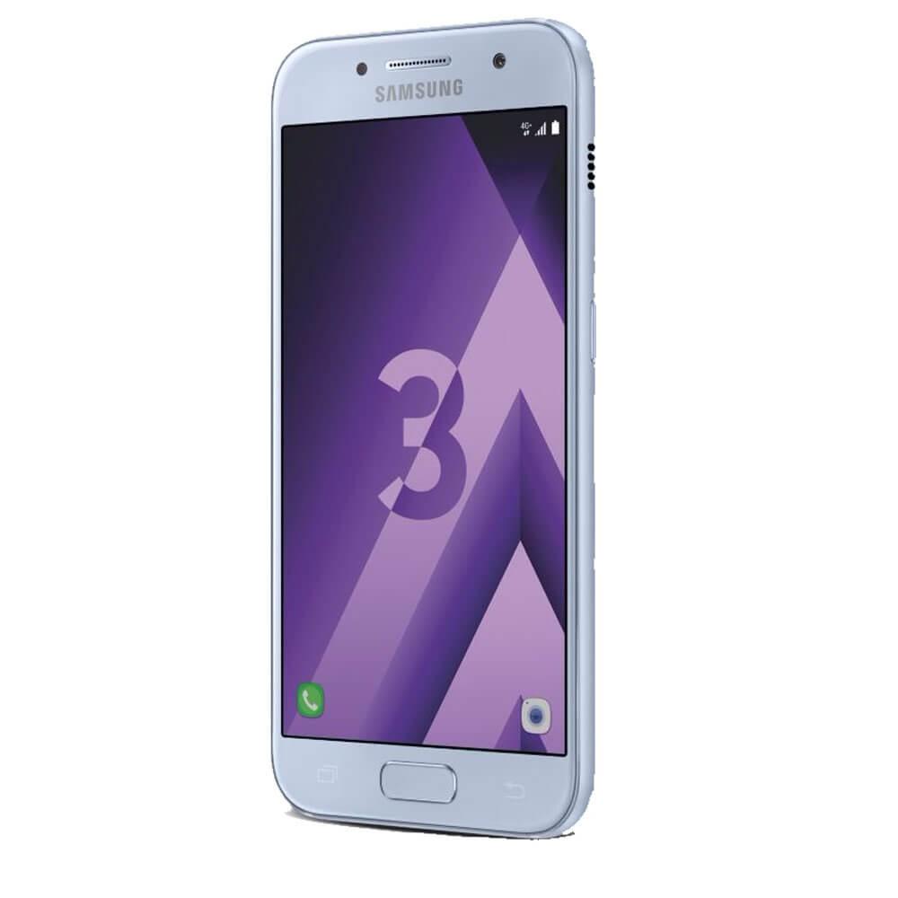 Samsung Galaxy A3 2017 Bleu - Profil