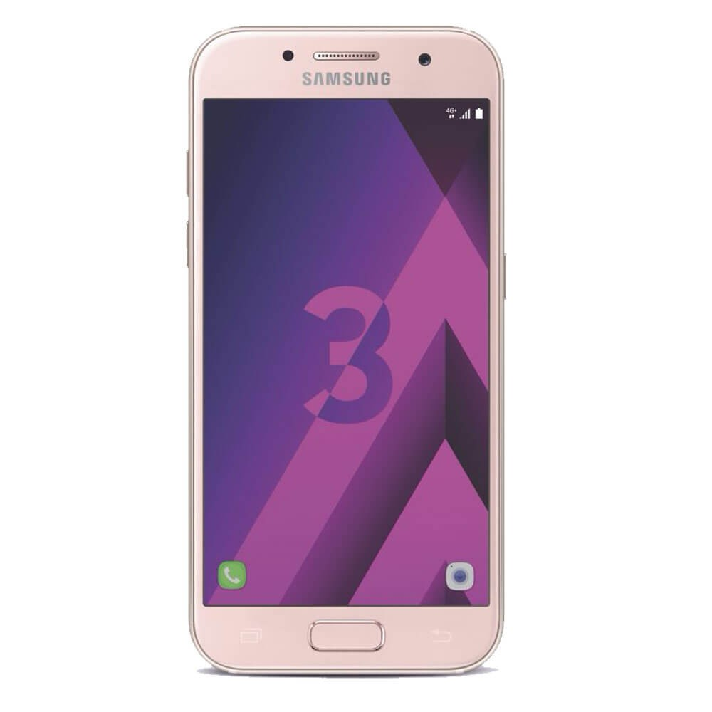Samsung Galaxy A3 2017 Rose - Face