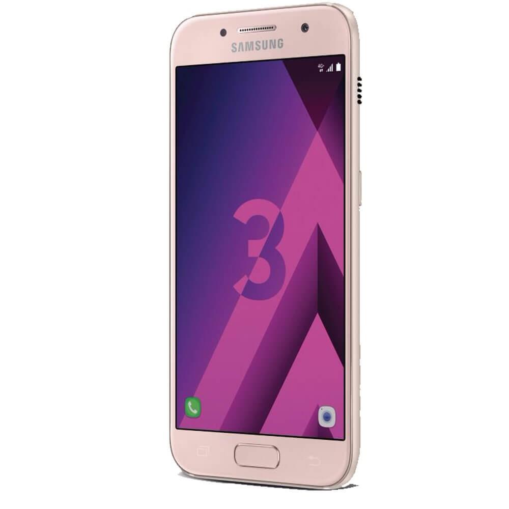 Samsung Galaxy A3 2017 Rose - Profil