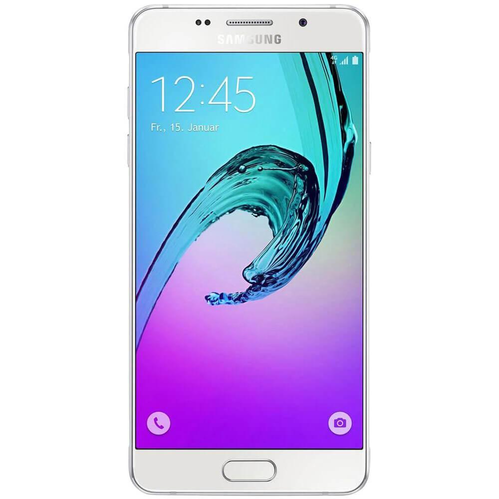 Samsung Galaxy A5 2016 Blanc - Face