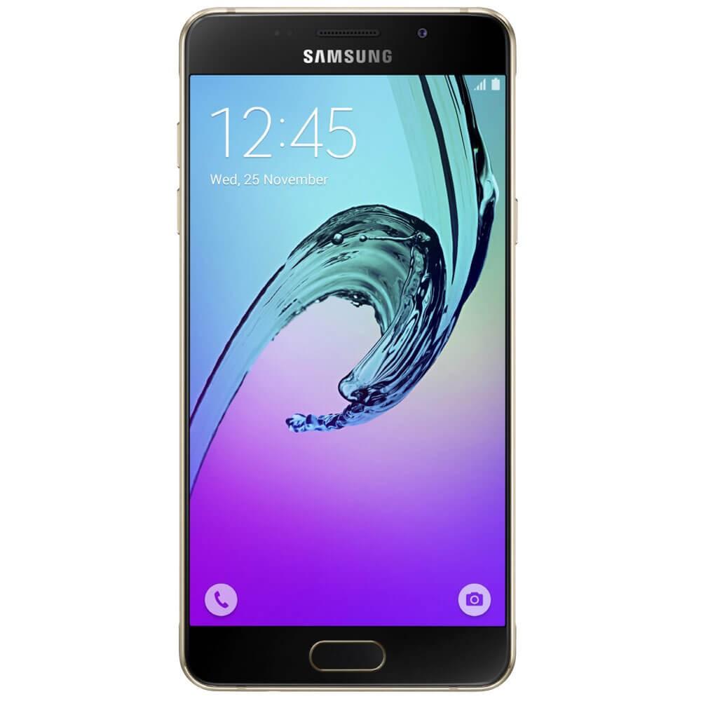 Samsung Galaxy A5 2016 Noir - Face