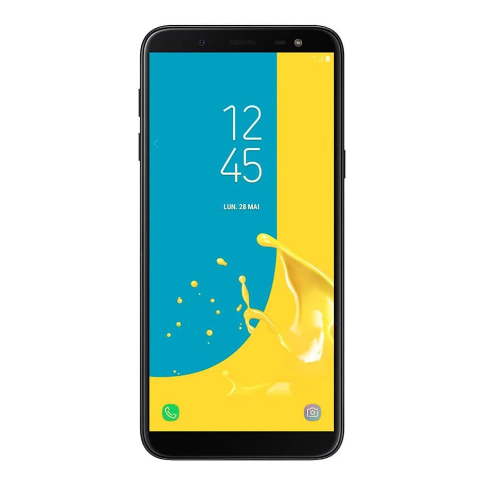 Samsung Galaxy J6 2018 Noir - face