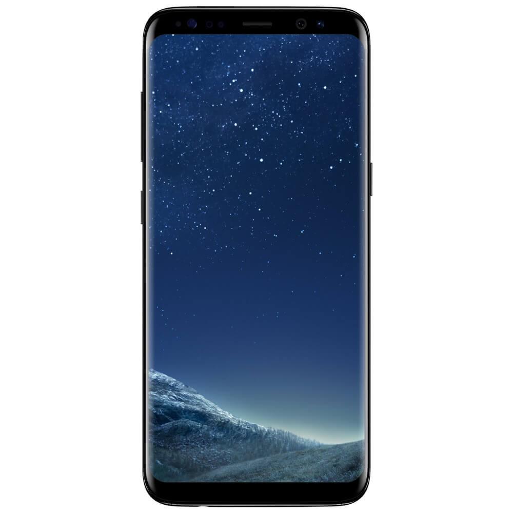 Samsung Galaxy S8 Noir - Face