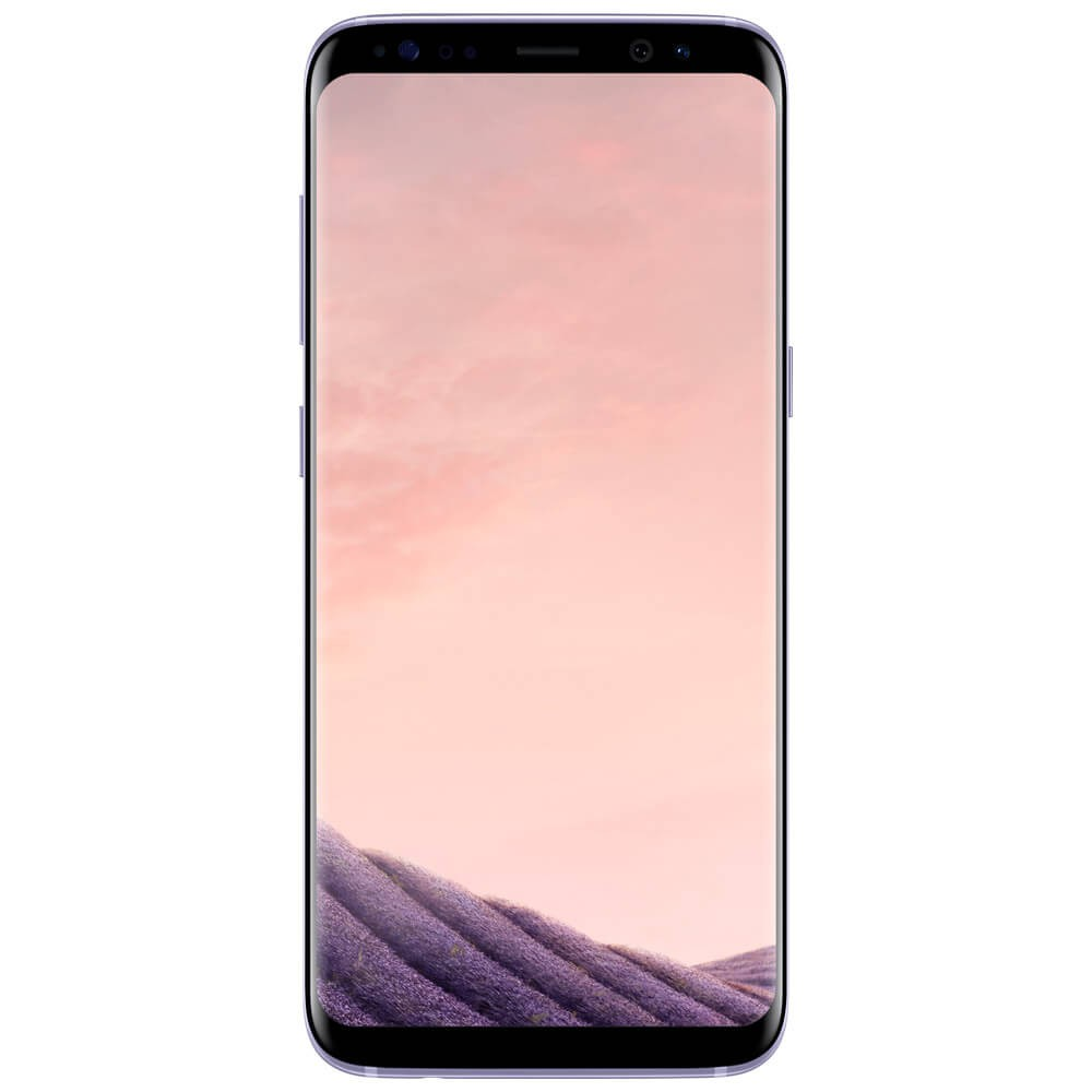 Samsung Galaxy S8 Orchidee - face