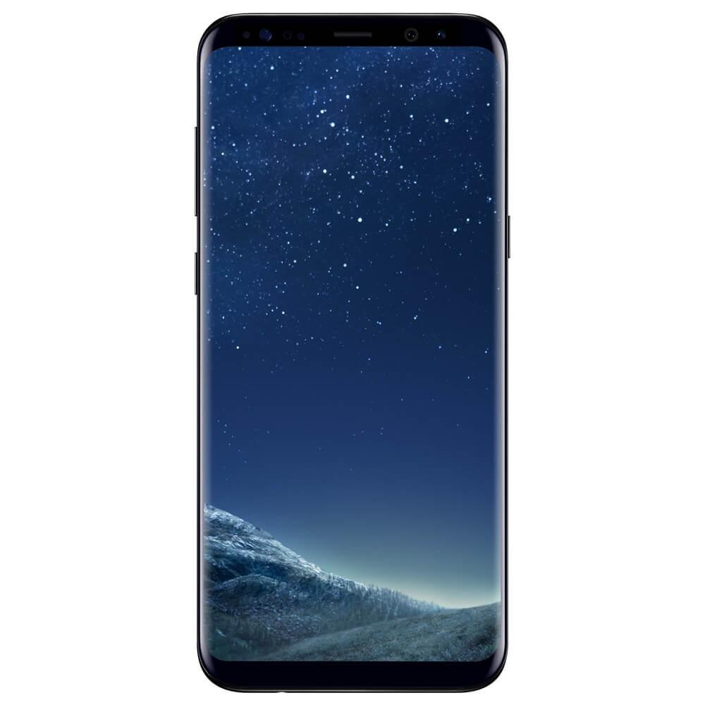 Samsung Galaxy S8+ Noir - face