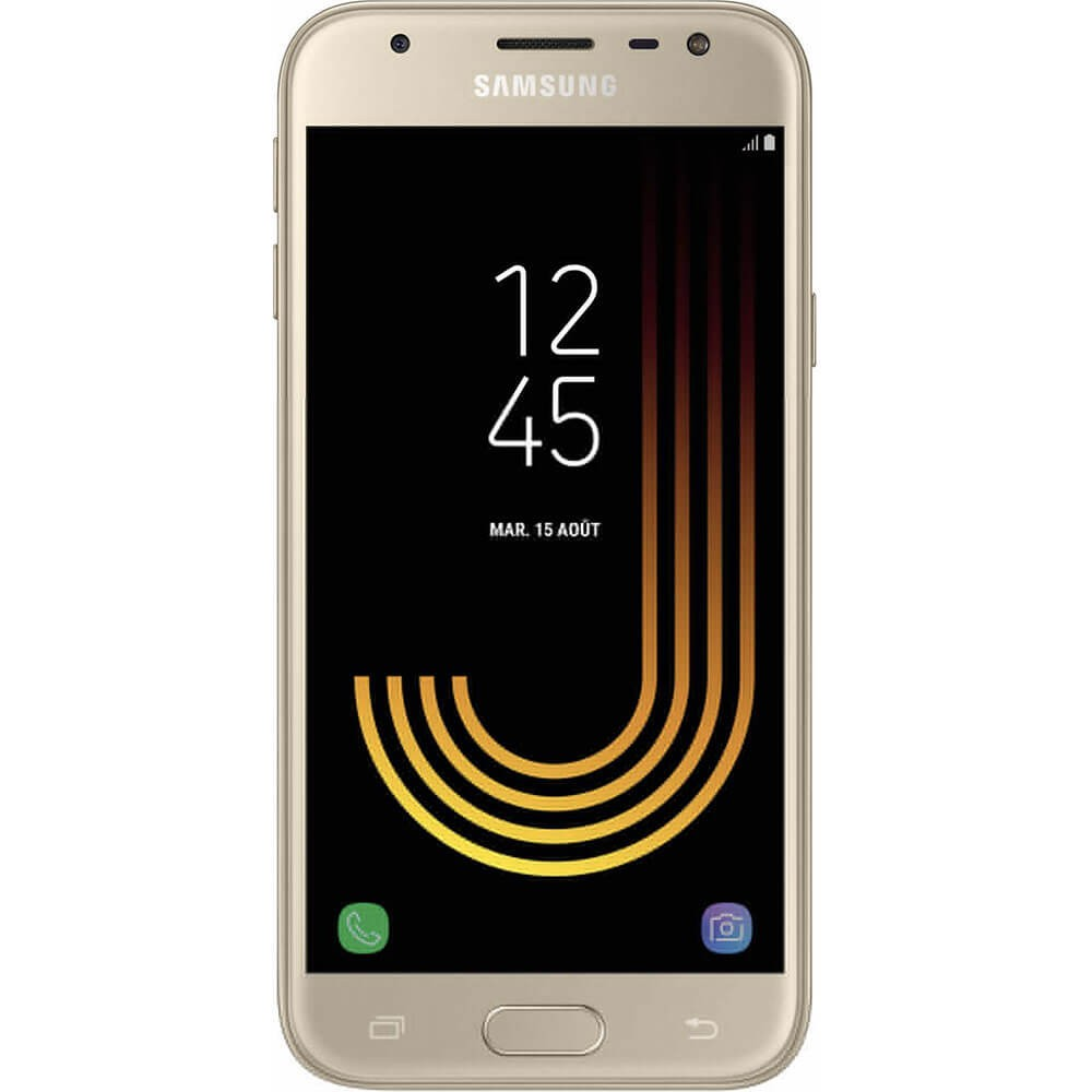 Samsung Galaxy J3 2017 Or - face