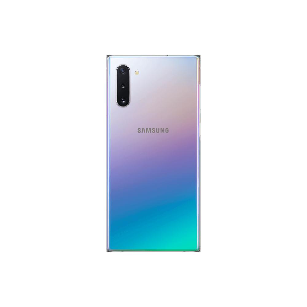 Samsung Galaxy Note 10 256Go Argent Dos