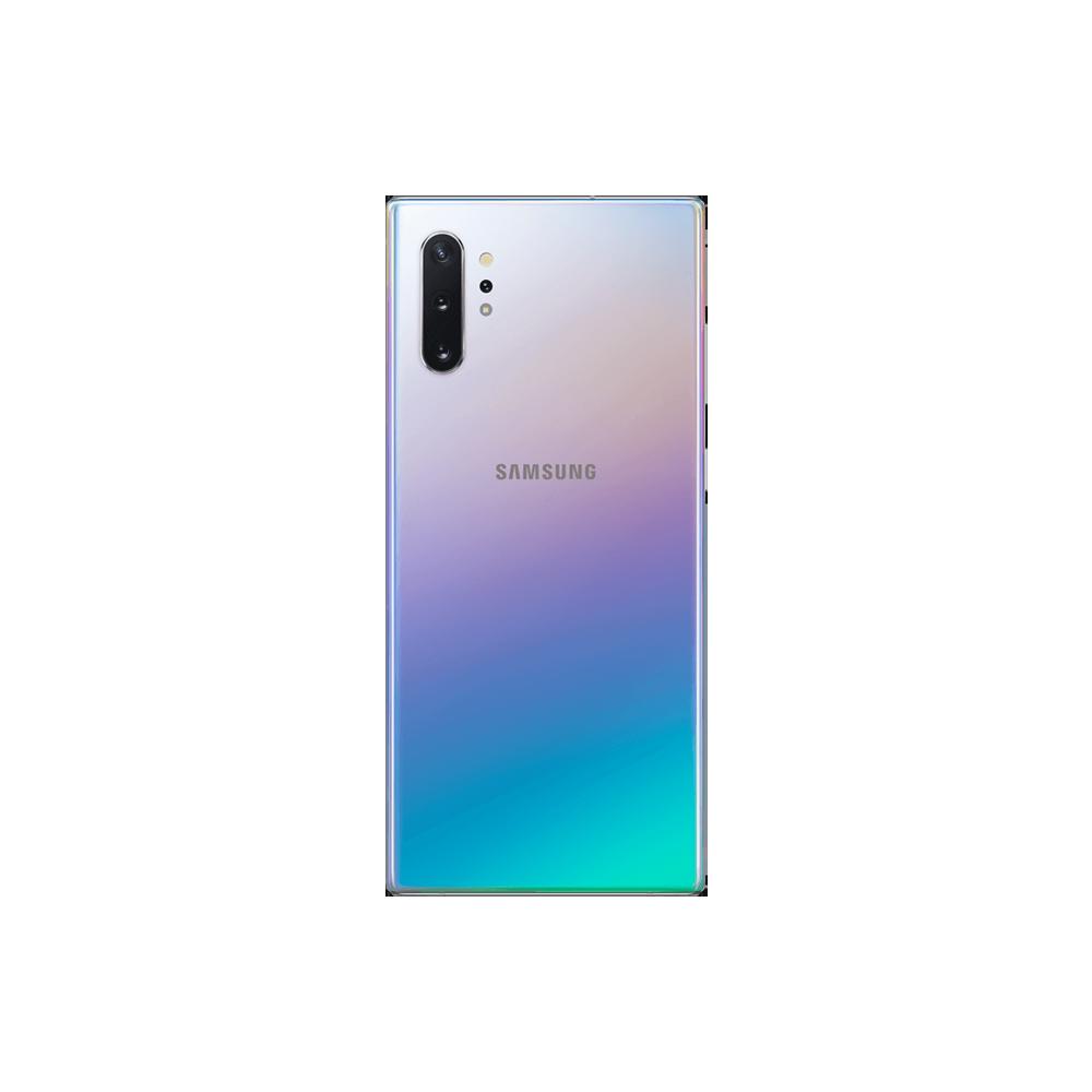 Samsung Galaxy Note 10+ Argent 256Go  Dos