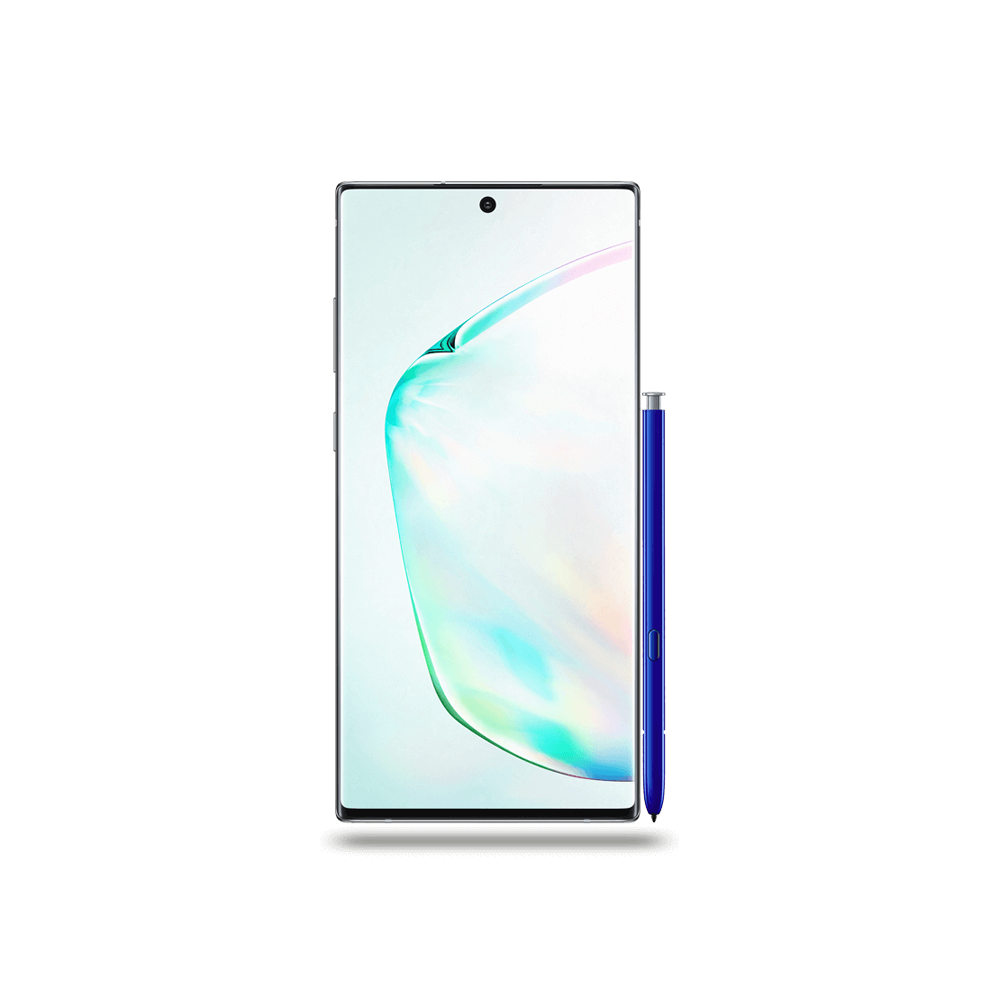 Samsung Galaxy Note 10+ Argent 256Go  Face
