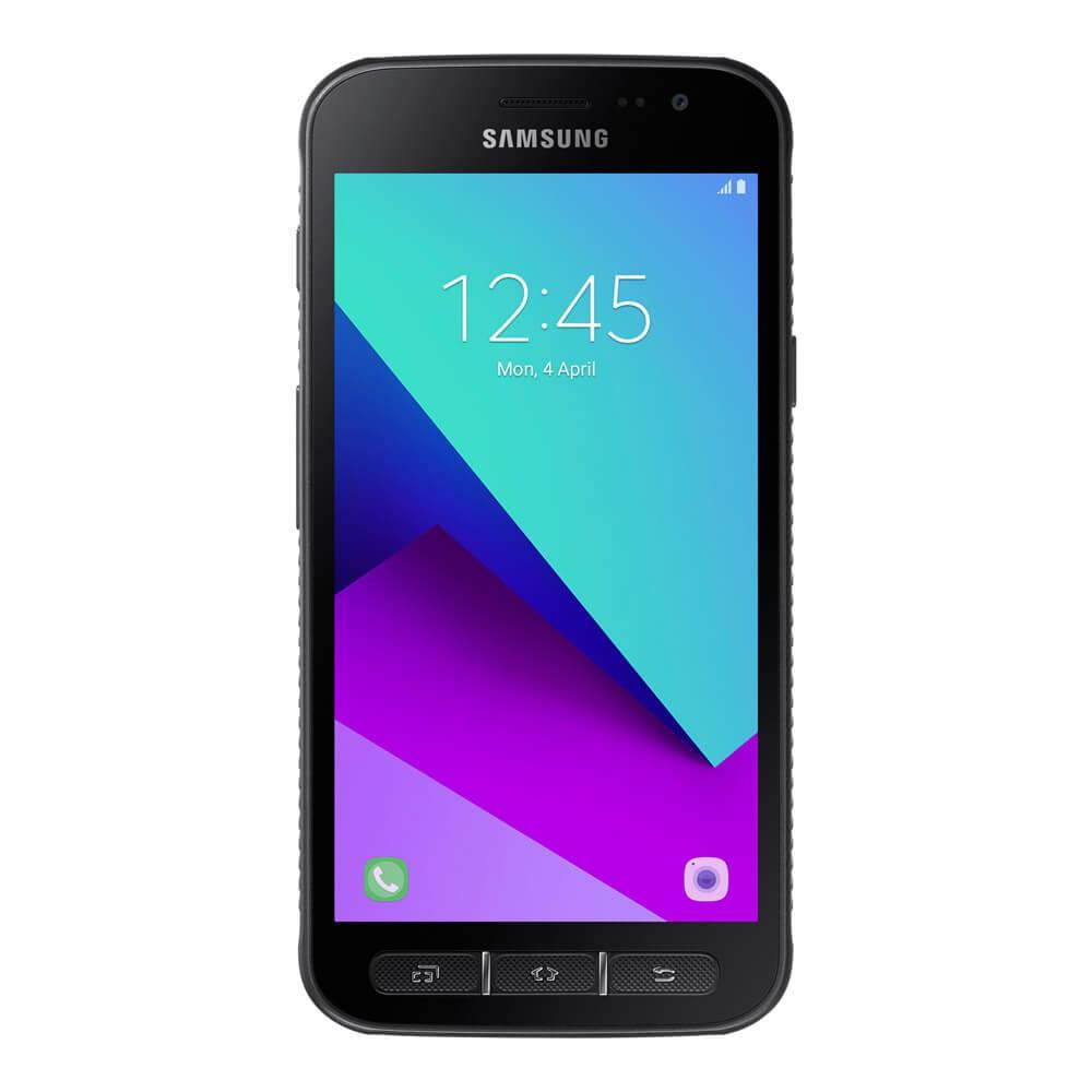 Samsung Galaxy Xcover 4 Noir - face