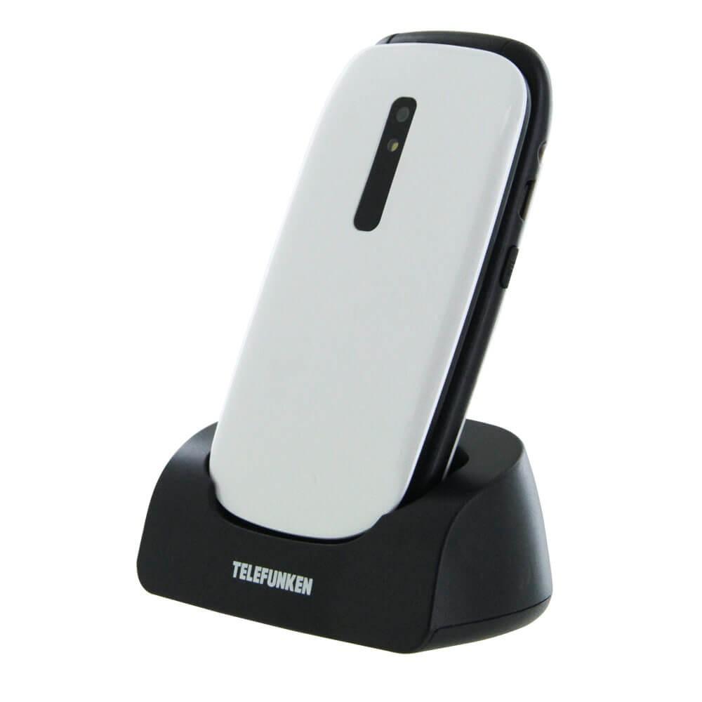 Telefunken Cosi TM220 Blanc - Profil