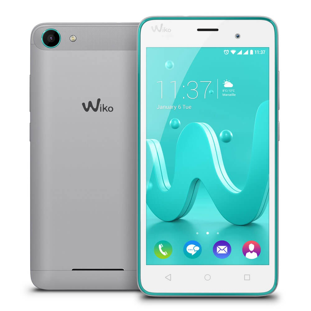 Wiko Jerry 2 Argent - face