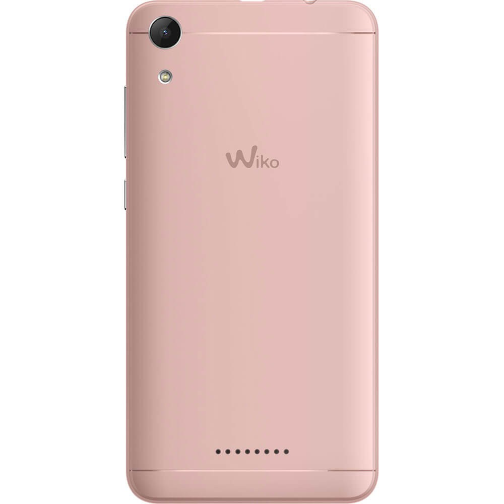 Wiko Lenny 4 LS Rose Or - dos