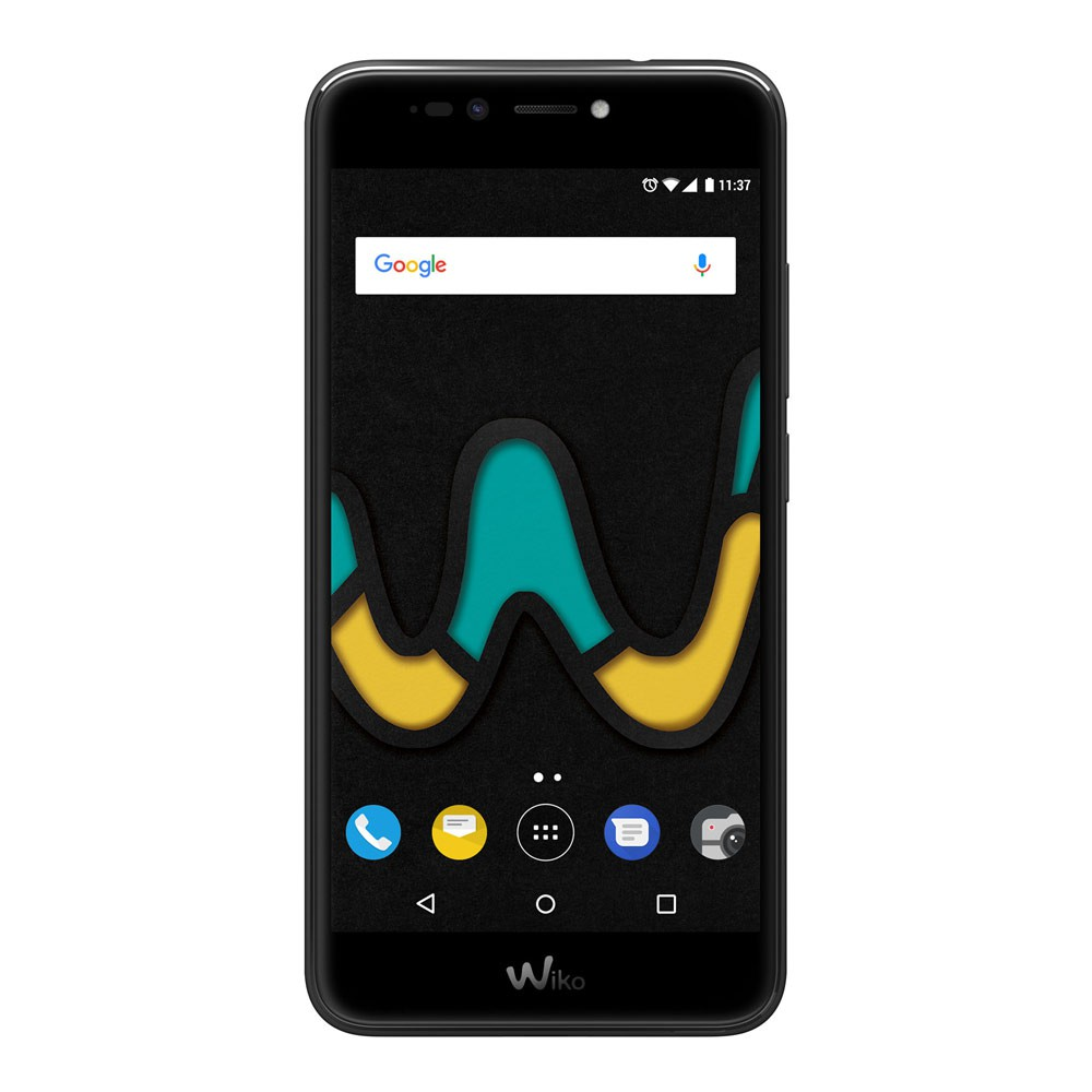 Wiko Upulse Noir - face