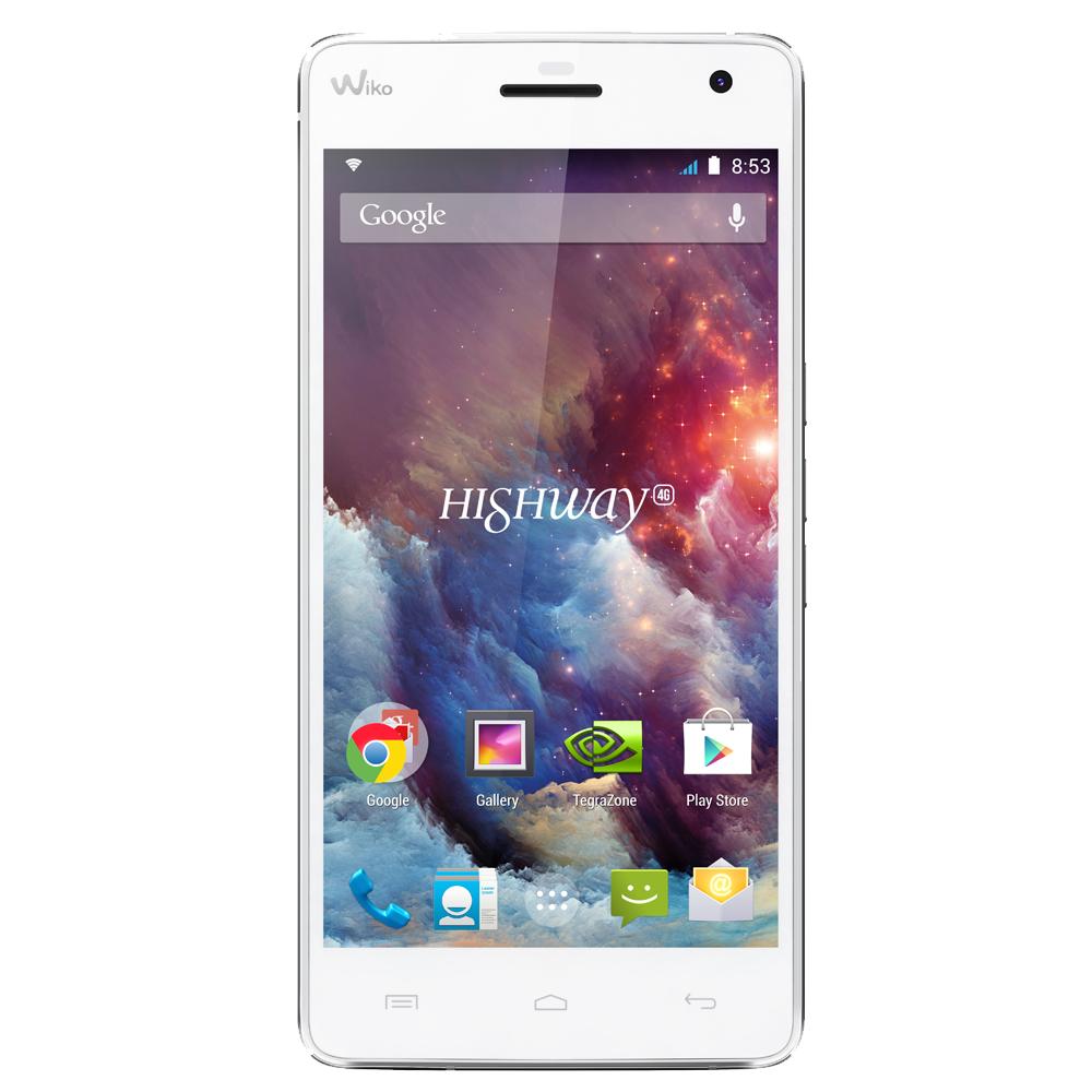 Wiko rainbow 4g blanc - Comparateur de prix smartphone sans abonnement ...
