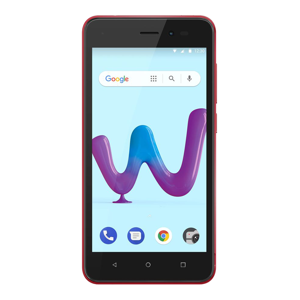 wiko-sunny-3-rouge-8go-face