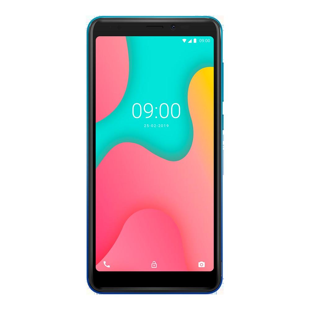 wiko-y60-bleu-vert-16go-face