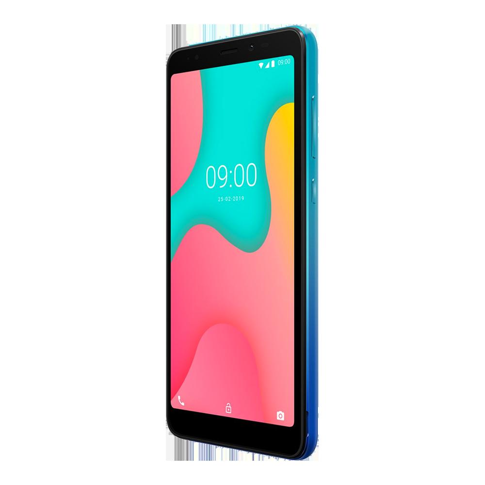 wiko-y60-bleu-vert-16go-profil