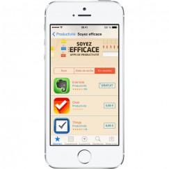 Apple iPhone 5S Argent 64G reconditionné