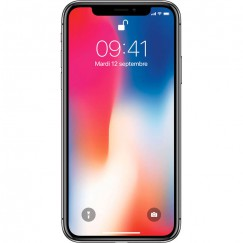 Apple iPhone X 256Go Gris Sidéral