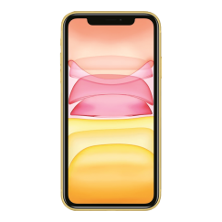 Apple iPhone 11 Jaune 64Go