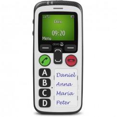 Doro Secure 580 IUP Noir et Blanc
