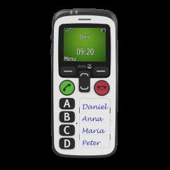 Doro secure 580 Noir/ Blanc