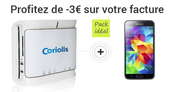 Remise Box mobile, économisez 3€ sur votre facture