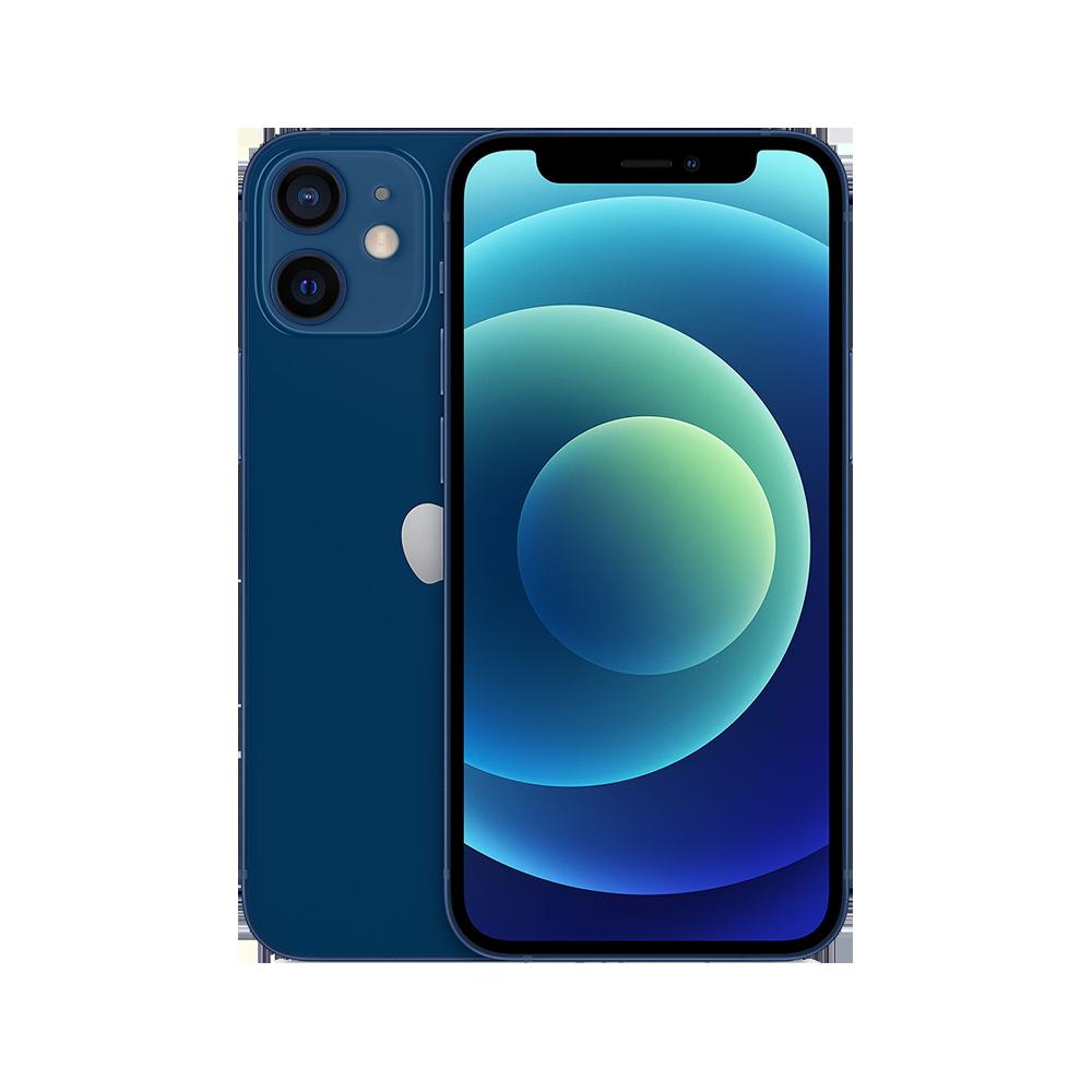 Apple-iPhone-12-mini-256go-bleu-face