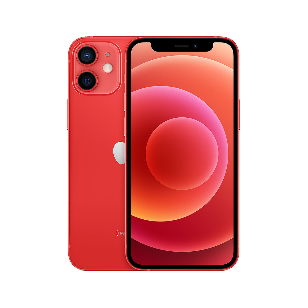 Apple-iPhone-12-mini-64go-rouge-face