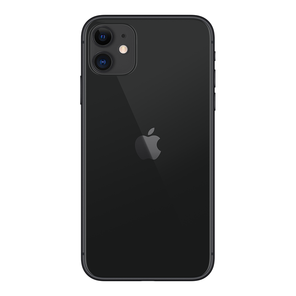 Apple IPhone 11 Noir 64Go dos