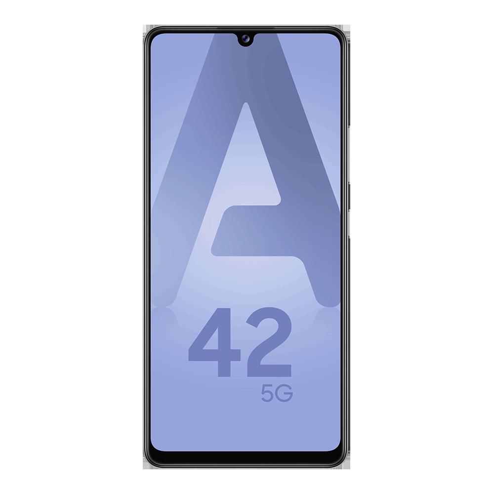 Samsung-galaxy-a42-5g-128go-argent-face